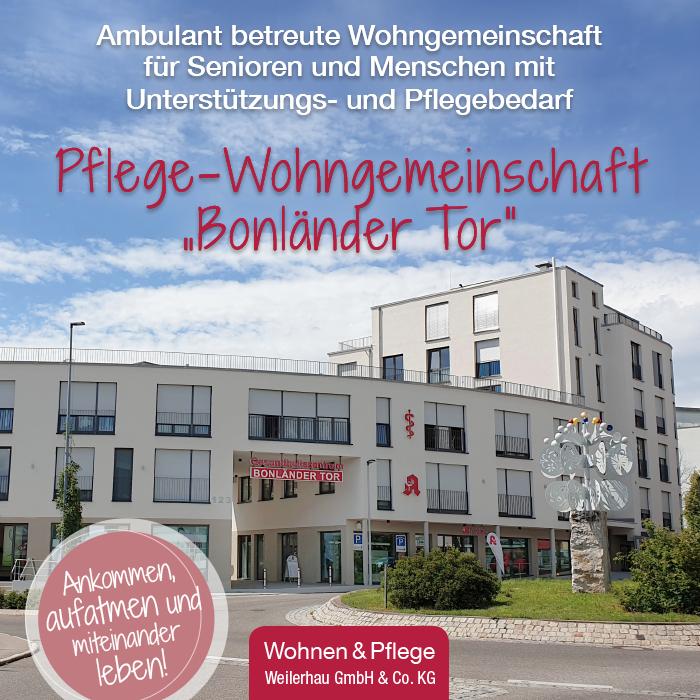 """Pflege-Wohngemeinschaft """"Bonländer Tor"""""""